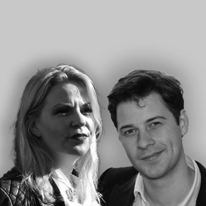 Lauren Bevan and Ralph Robinson